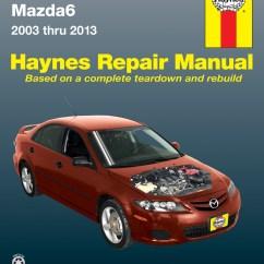 Mazda 6 Wiring Diagram Gg Jeep Tj Radio Mazda6 03 13 Haynes Repair Manual Manuals