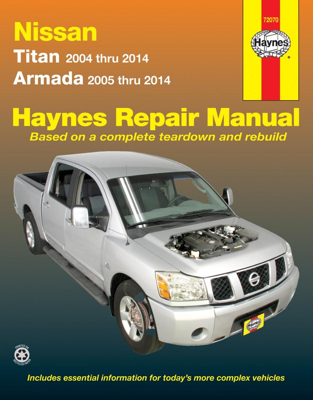 medium resolution of printed manual enlarge nissan titan