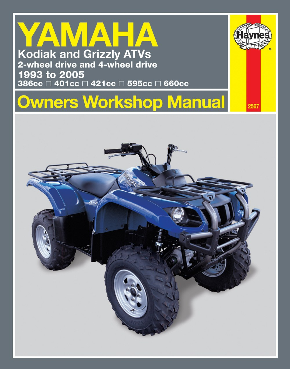 medium resolution of yamaha grizzly 660 2002 2005 atv repair manuals haynes manualsenlarge yamaha kodiak u0026