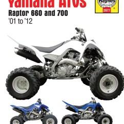 2009 Yamaha Raptor 700 Wiring Diagram Mg Zr Ignition Haynes Manuals Enlarge