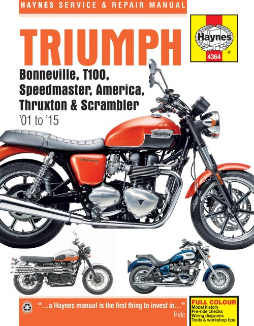 small resolution of printed manual enlarge triumph bonneville
