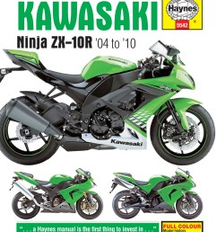 2004 zx10r wiring diagram wiring librarykawasaki zx10r 2004 2010 motorcycle repair manuals haynes manuals [ 2500 x 3197 Pixel ]