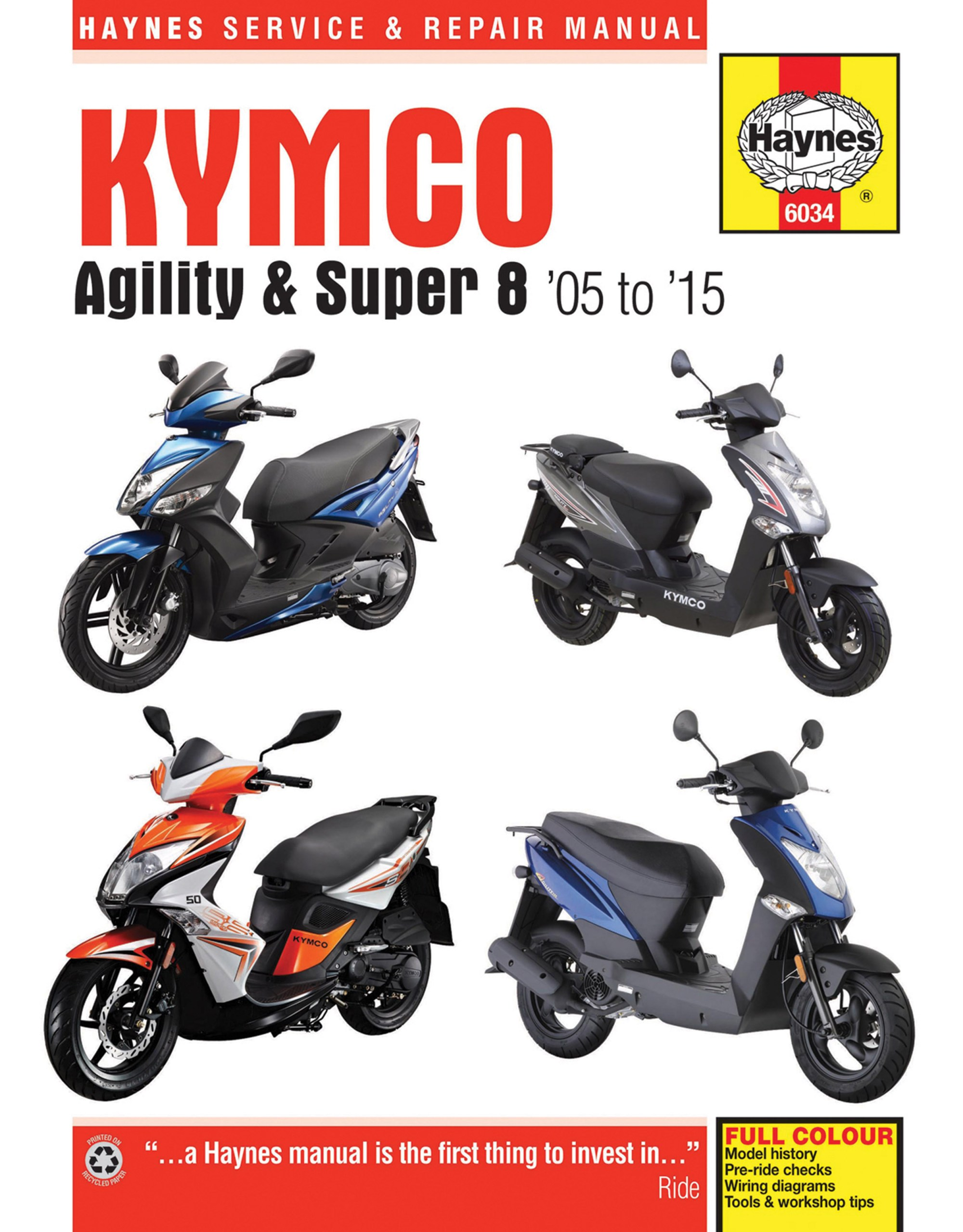 hight resolution of agility 50 haynes manuals electric scooter wiring diagrams enlarge kymco agility u0026 super