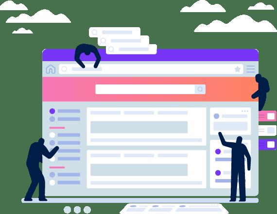 Web Portal Development Services, Evoke
