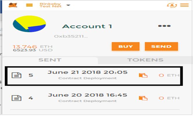 Contract Metamask Plugin