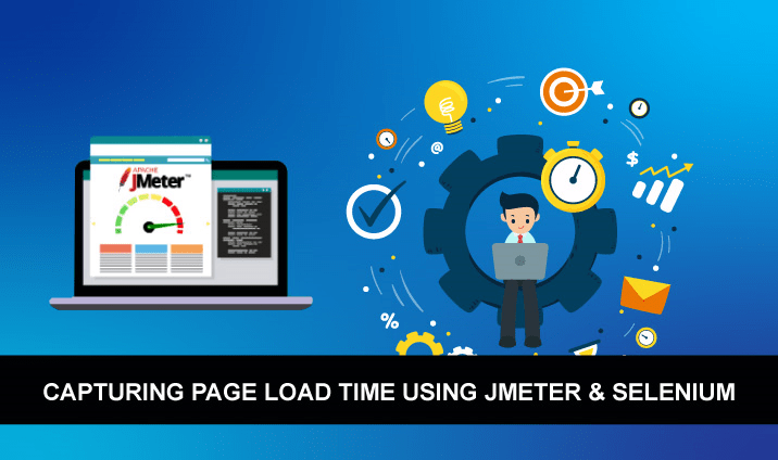 Capturing Page Load Time using JMeter & Selenium