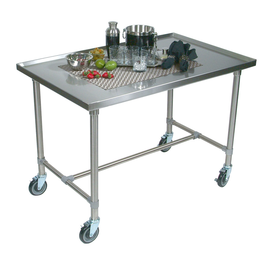 stainless steel kitchen cart outdoor patio ideas john boos cucina mariner by