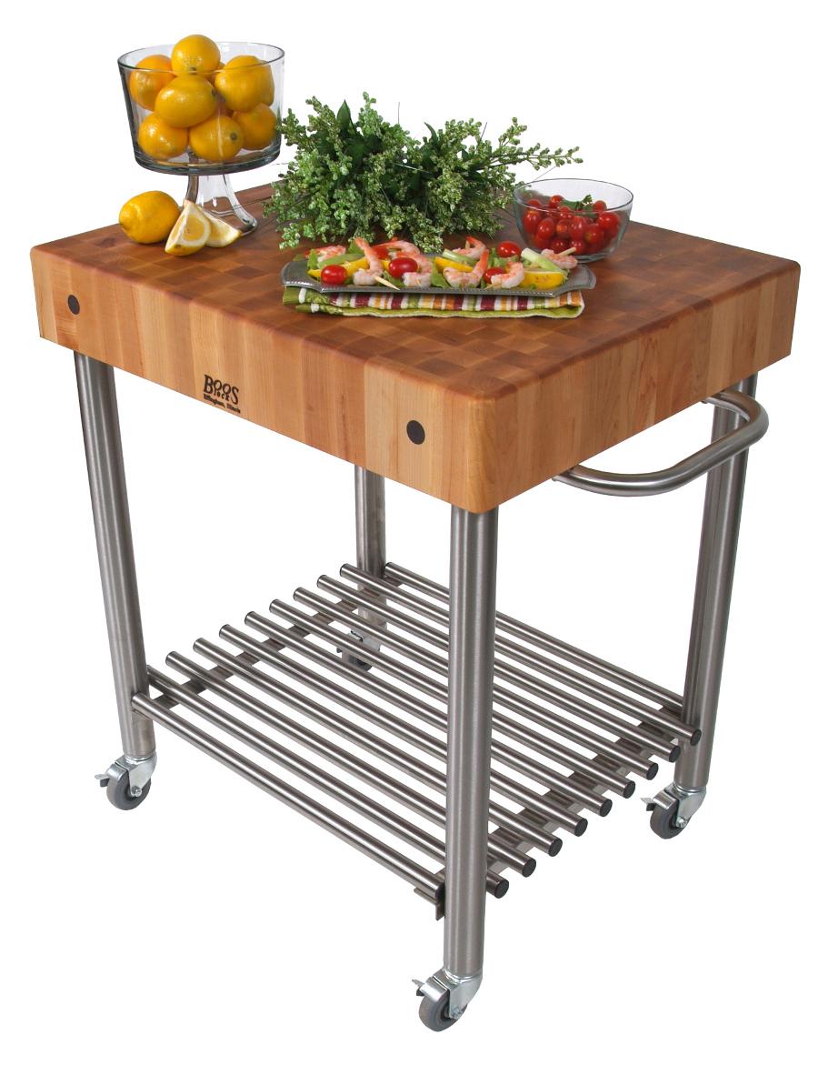 boos kitchen islands commercial aid mixer john cucina d amico maple block cart damico butcher cucd15