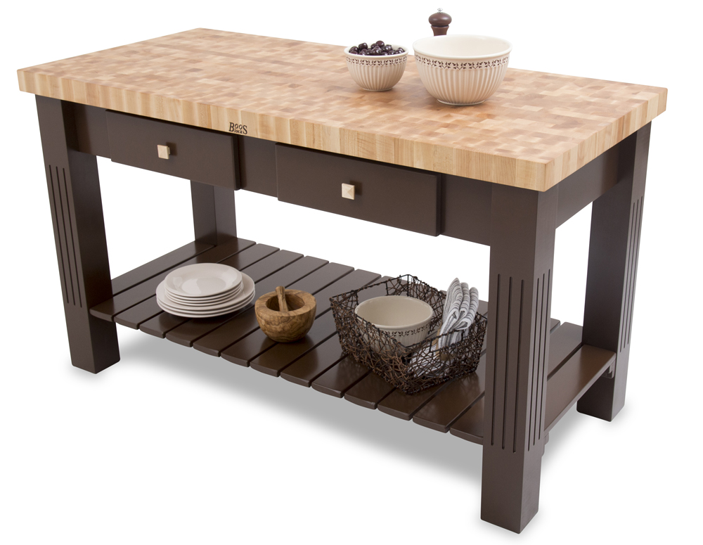 kitchen block soffit lighting butcher island islands boos end grain maple grazzi table 60 x 28 2 25