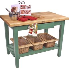 Kitchen Work Tables Large John Boos Classic Country Table Island C Maple 12 Base Color Options