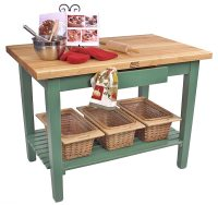 Kitchen Island Table | Boos Butcher Block Islands