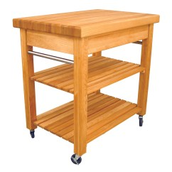 Cart For Kitchen Tool Set Butcher Block Carts Catskill Mid Sized French Country Work Center 30 X 20 2 1 Top