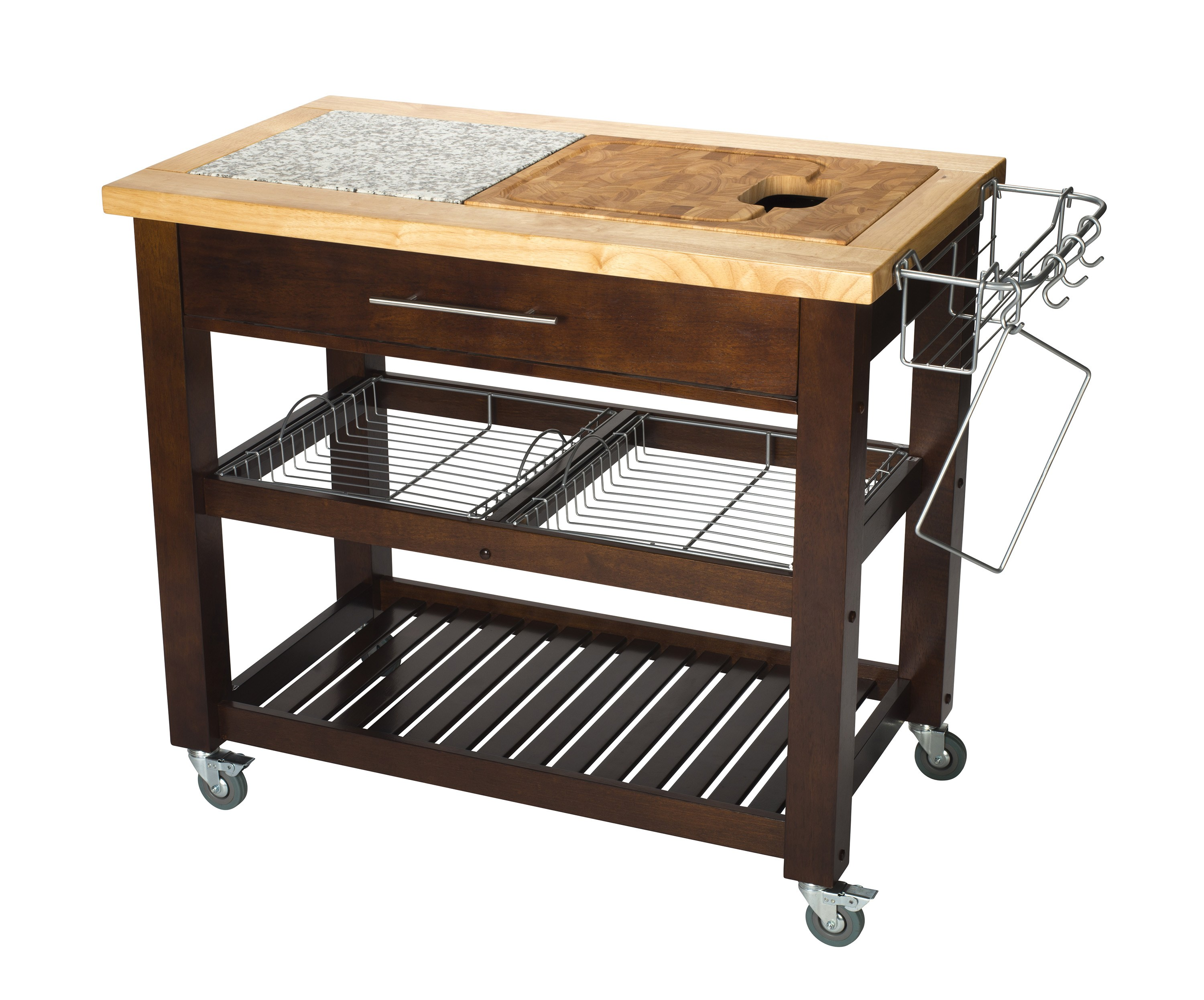 chris and kitchen cart floor to ceiling pantry espresso colored work station