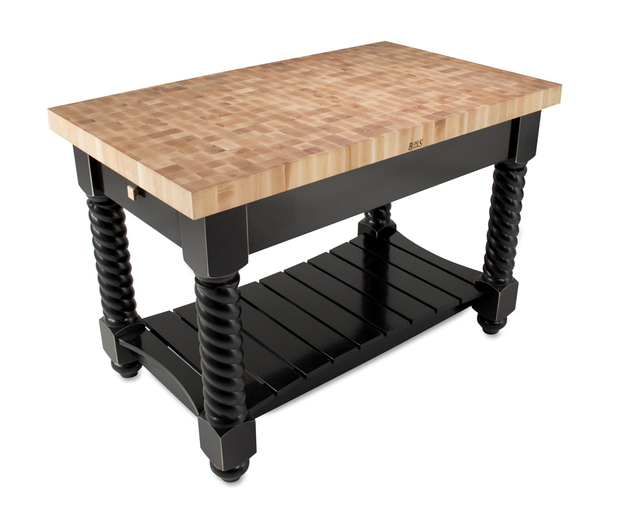 Plywood End Grain Table Top