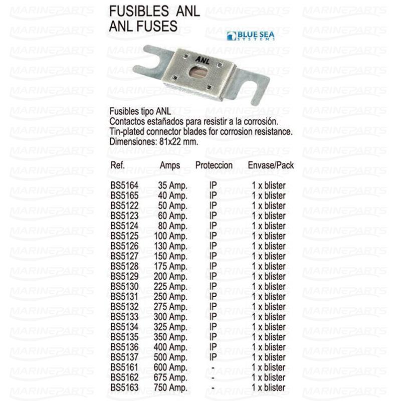 FUSE ANL 100 AMP, Marineparts Sverige