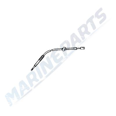 Throttle Cable Johnson/Evinrude 15 hp (1989+), marineparts.eu