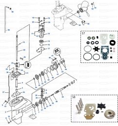 gearcase parts yamaha f9 9 1998 2008 f13 5  [ 1200 x 1200 Pixel ]