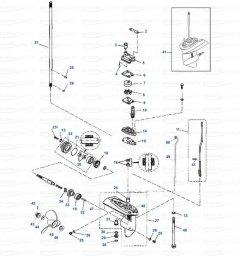 gearcase parts yamaha f4 1998 2009  [ 1200 x 1200 Pixel ]