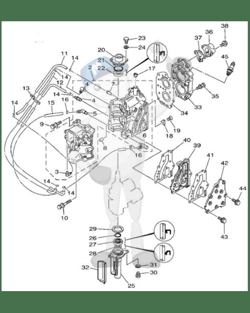 Yamaha motordelar till båtmotor, Marineparts Sverige