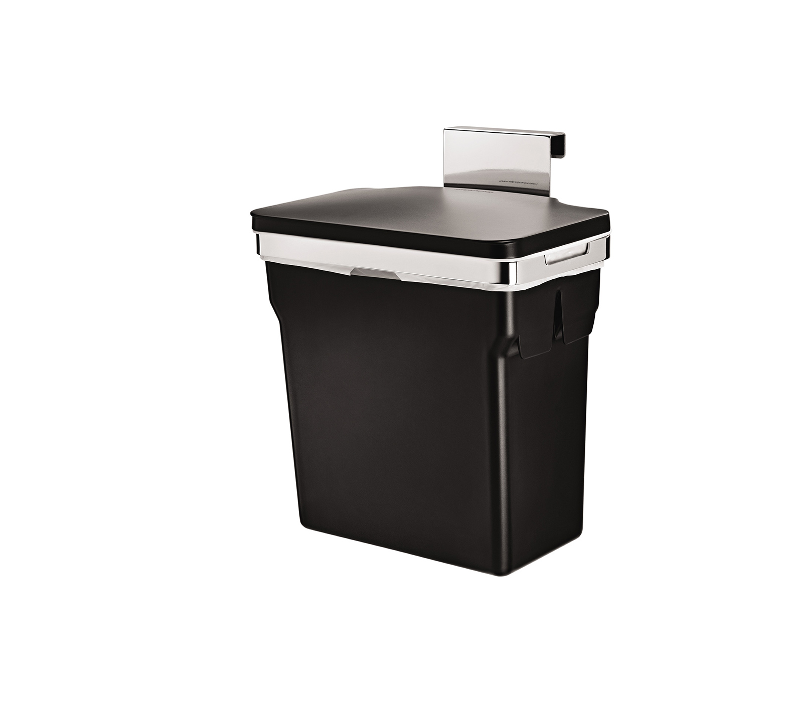 small recycling bins for kitchen rustic clock simplehuman kitchens bathrooms in cabinet