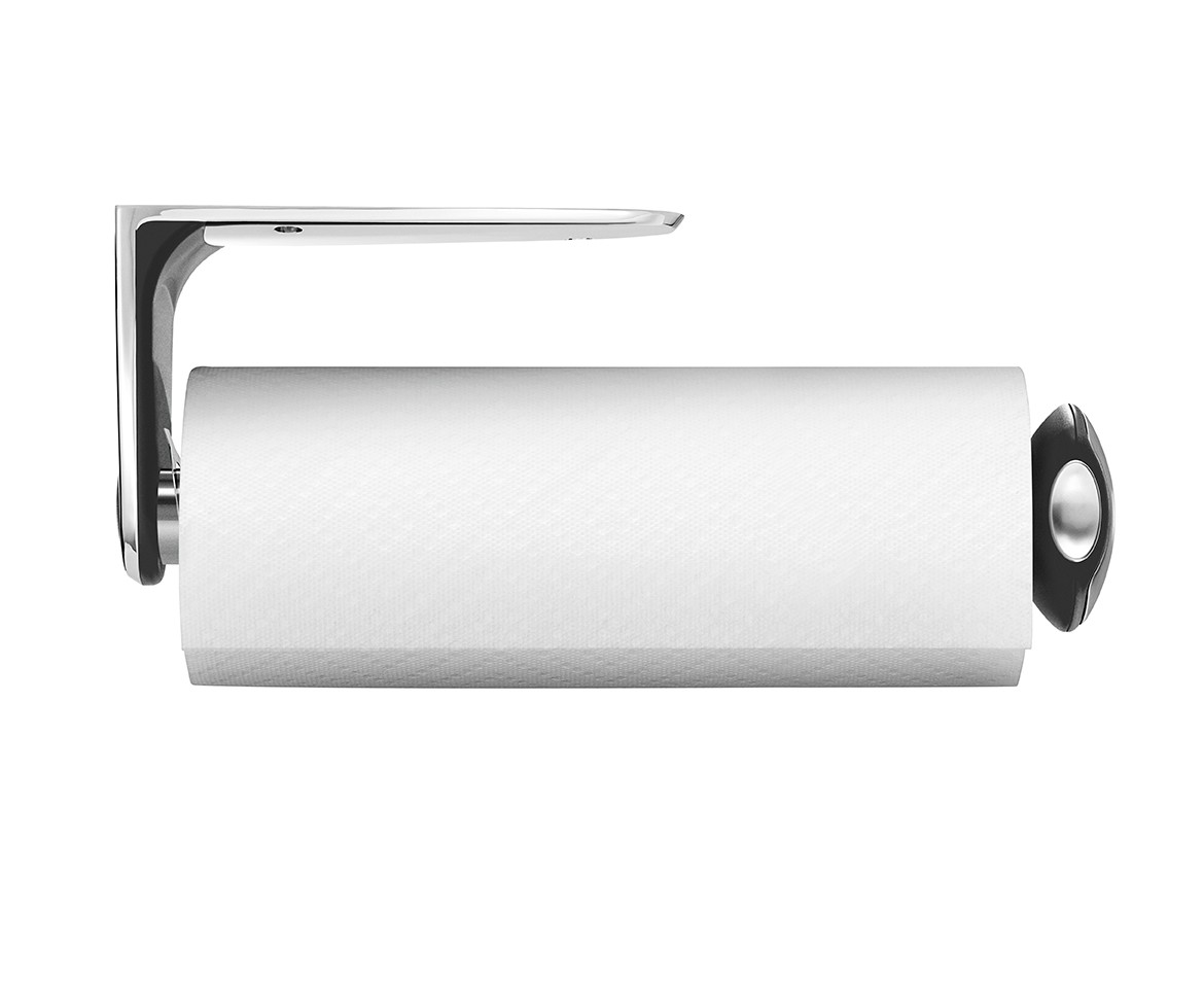 kitchen paper towel holder white appliance simplehuman wall mount and dispenser