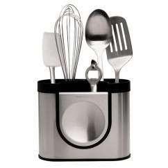 Kitchen Utensil Caddy Sink Basin The Gallery For Gt Holder Stainless Steel