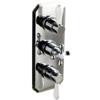Cassellie Traditional Triple Concealed Thermostatic Shower ...