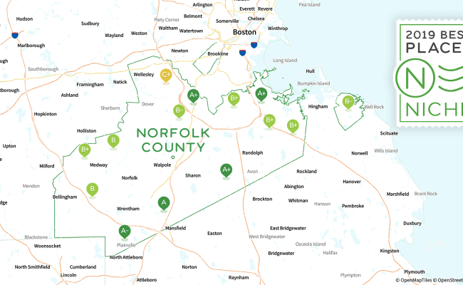 2019 Best Places To Live In Norfolk County Ma Niche