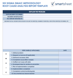 root cause analysis template two [ 980 x 1003 Pixel ]