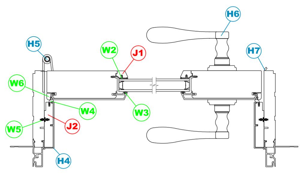 clad swing patio door parts manual