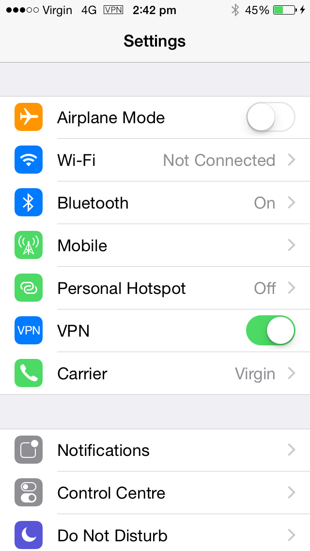 DNS-over-VPN: Apple iPhone - Getflix Smart DNS & VPN Knowledge Base