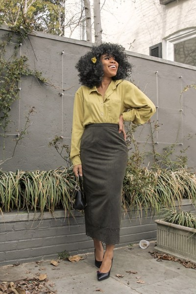 Fashionista NOW: How To Wear The Mellow Warm Green Color Trend?