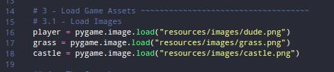 load asset di langkah ke-3