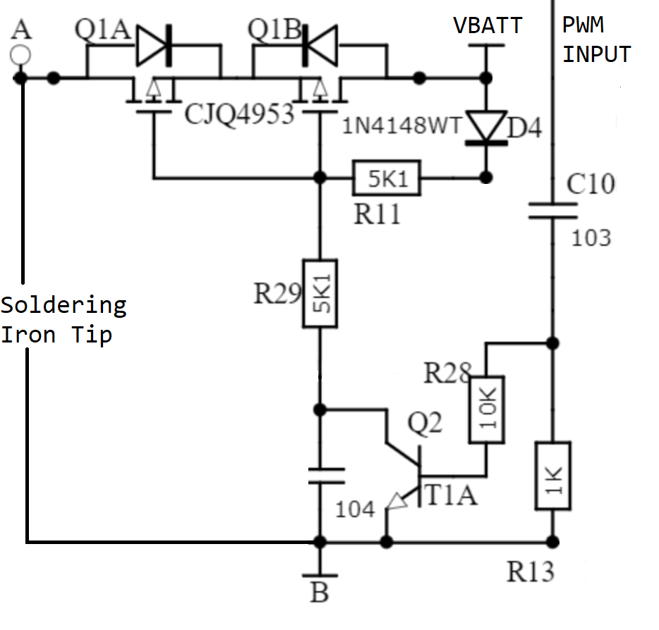 hight resolution of ts100 schematic extract