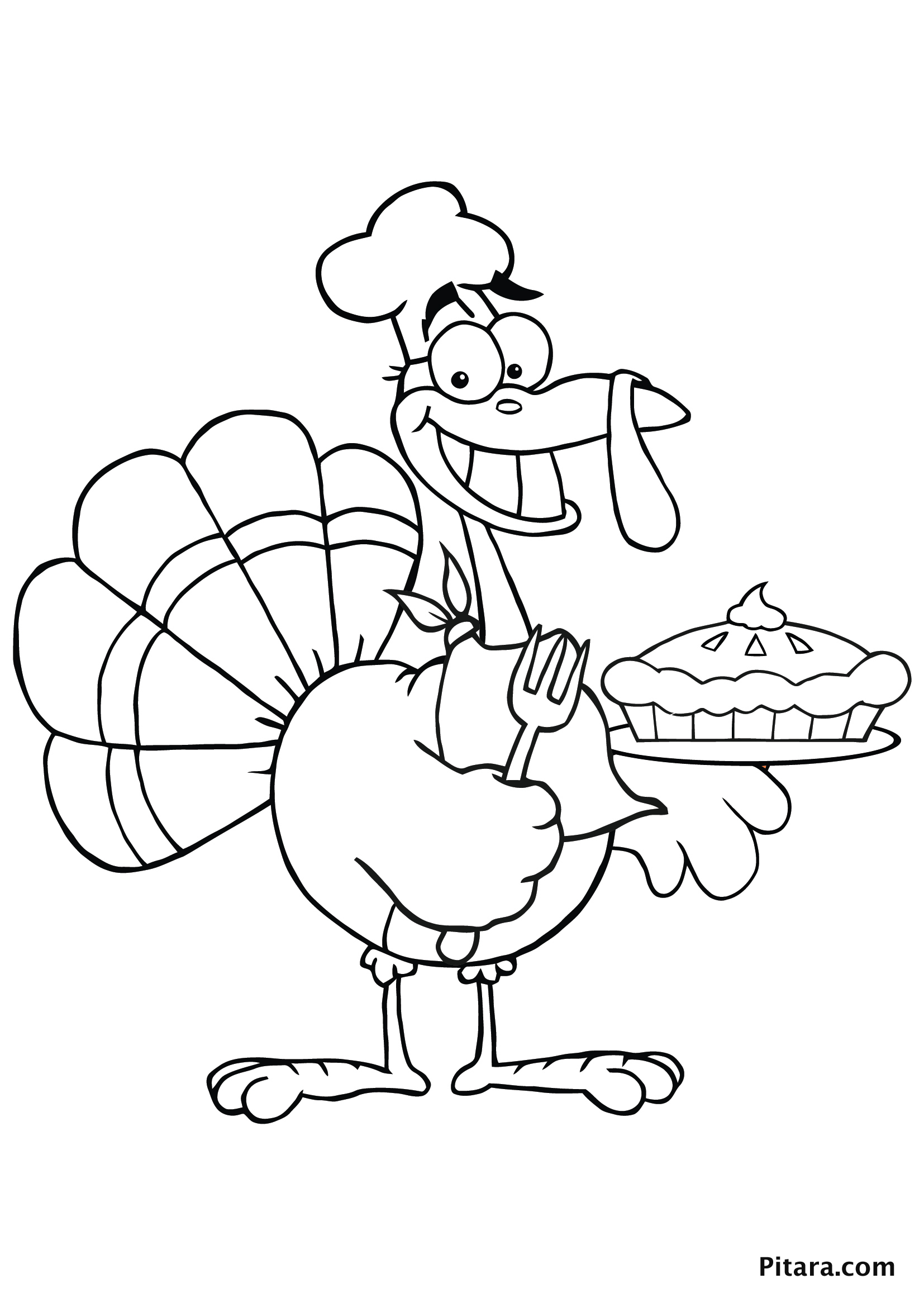 Turkey Coloring Pages for Kids