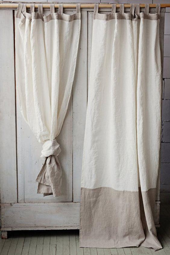 comment raccourcir des rideaux sans les couper