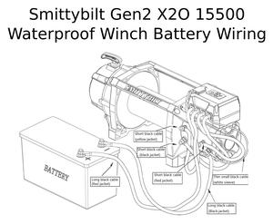 [Complete Specs] Smittybilt Gen2 X2O 15500 Waterproof