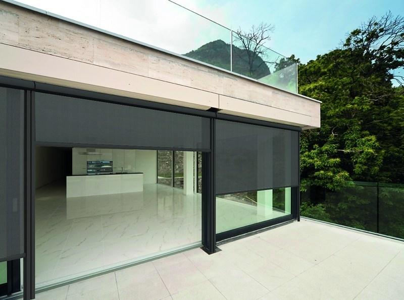 retractable screen wall system patio