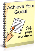 How To Achieve Your Goals in Sales Workbook cover.