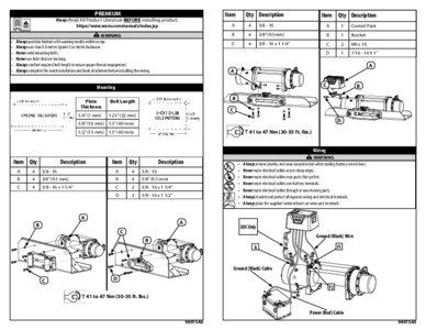 [Complete Specs] Warn M8000-S Winch 87800 Roundforge