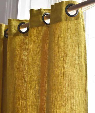comment coudre un rideau avec oeillets