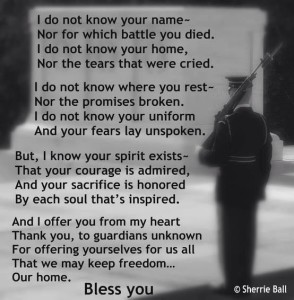 veterans poem
