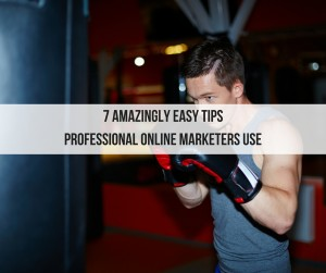 7 Amazingly Easy Tips Professional Online Marketers Use