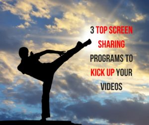 3 Top Screen Sharing Programs To Kick Up Your Videos