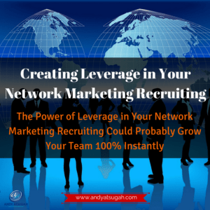 leverage network marketing recruiting