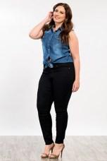 Plus Size Women Essential Super Soft Skinny Jeans