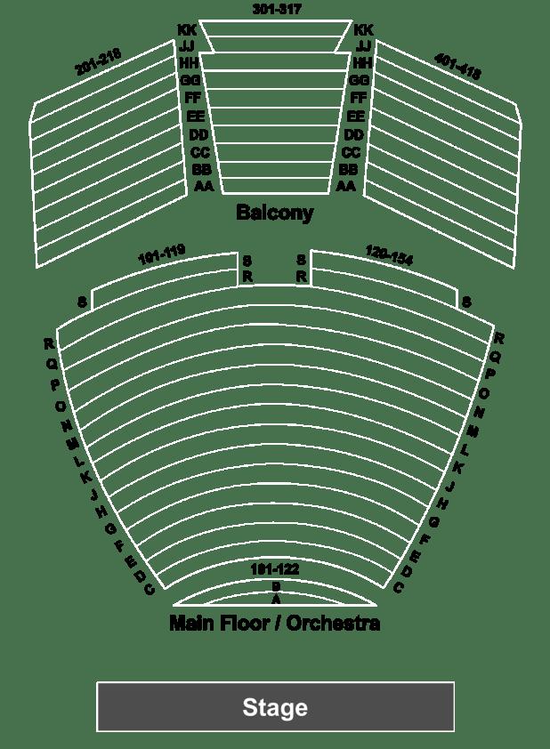 walton arts center seating capacity