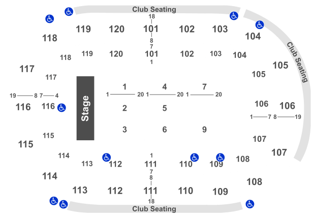 Germain Arena Seating Chart End Stage Brokeasshome Com