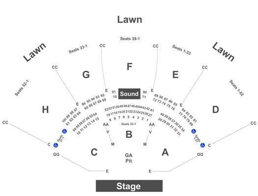 Klipsch Music Center Seating Capacity Brokeasshome Com