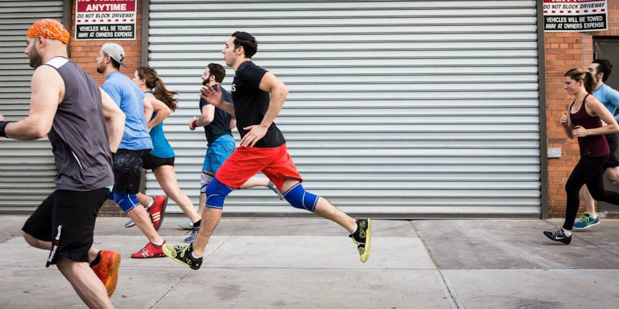greenpoint rising at crossfit